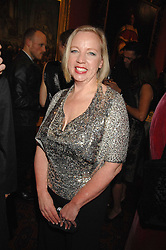 DEBORAH MEADEN from Dragon's Den at the Morgan Stanley Great Britons Awards at The Guildhall, City of London on 31st January 2008.  Conservative party leader David Cameron presenter a lifetime achievement award to former Prime Minister Baroness Thatcher.<br /> <br /> NON EXCLUSIVE - WORLD RIGHTS (EMBARGOED FOR PUBLICATION IN UK MAGAZINES UNTIL 2 WEEKS AFTER CREATE DATE AND TIME) www.donfeatures.com  +44 (0) 7092 235465