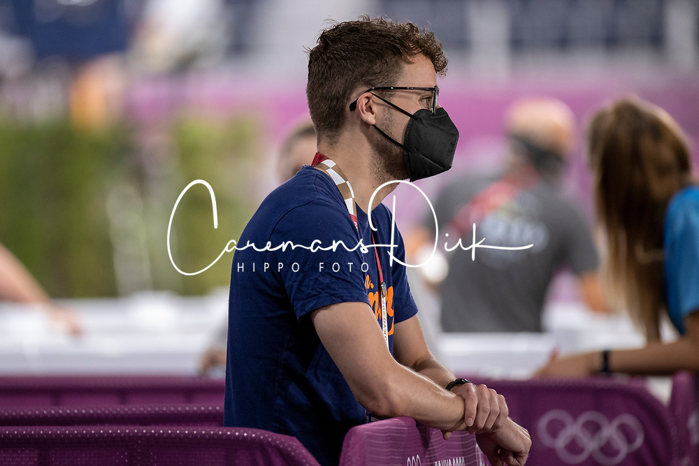 Husken Robert, NED<br /> Olympic Games Tokyo 2021<br /> © Hippo Foto - Dirk Caremans<br /> 30/07/2021