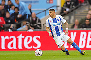 Brighton & Hove Albion midfielder Anthony Knockaert (11) during the The FA Cup semi-final match between Manchester City and Brighton and Hove Albion at Wembley Stadium, London, England on 6 April 2019.