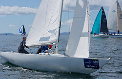 Pelle P Kip Regatta 2019 Day 1<br /> <br /> Light and bright conditions for the opening racing on the Clyde keelboat season<br /> <br /> Lock & Load, Etchells