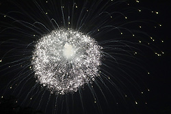 Fireworks are seen from the South Lawn of the White House in Washington, D.C., U.S., on Wednesday, July 4, 2018. Trump's campaign won the technical knockout of a lawsuit filed by two Democratic National Committee donors and a DNC staffer who accused it of colluding with Russian to publish compromising information about the Clinton campaign on WikiLeaks that included details about their lives. Photographer: Yuri Gripas/Bloomberg