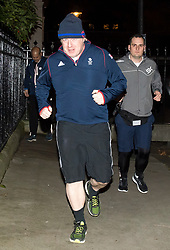 © Licensed to London News Pictures. 08/01/2018. London, UK. Foreign secretary BORIS JOHNSON seen jogging in Westminster, London ahead of a cabinet reshuffle by Prime Minister THERESA MAY. A number of senior moves are expected ahead of a new phase in Brexit negotiations and following the recent loss of Damian Green as First Secretary of State. Photo credit: Ben Cawthra/LNP