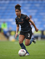 """File photo dated 18-10-2020 of Manchester City's Demi Stokes during the FA Women's Super League match at the Madejski Stadium, Reading. Manchester City and England left-back Demi Stokes has stressed the need for players to keep taking the knee, saying they are """"sick"""" of being racially abused. Issue date: Monday October 11, 2021."""