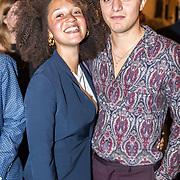 NLD/Amsterdam/20170917 - Gala van het Nederlands Theater 2017, Chris Peters en partner