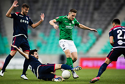 Timi Elsnik  of NK Olimpija Ljubljana during football match between NK Olimpija Ljubljana (SLO) and HSK Zrinjski Mostar (BIH) in Second Round of UEFA Europa League Qualifications, on September 17, 2020 in Stadium Stozice, Ljubljana, Slovenia. Photo by Grega Valancic / Sportida