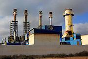 Las Salinas 2 diesel Endesa power station in Puerto del Rosario, Fuerteventura, Canary Islands, Spain