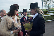 GRACE DE ALVARO; PHILIPPA HOLLAND, Side-Saddle Dash, Southern Spinal Injuries Trust charity Day. Wincanotn. 25 October 2015.