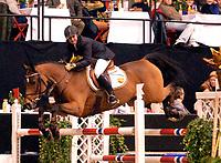 Rikstoto Grand Prix, Oslo Horse Show, Oslo Spektrum 19.10.02 <br />Saturday, October 19th 2002. S GIMINI  Kirsti SVABOE (NOR) <br />Foto: Geir Egil Skog, Digitalsport