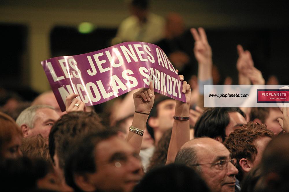 - Salle Gaveau à Paris - Soirée officielle de l'UMP pour les élections présidentielle - Official party for the winner of the french election - Paris, le 6/05/2007 - JSB / PixPlanete
