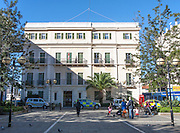 City Hall building, John Mackintosh Square, Gibraltar, British terroritory in southern Europe