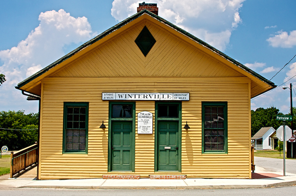 Old Train Station, Winteville, GA