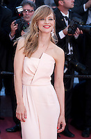 Actress Heike Makatsch at the gala screening for the film Mal De Pierres (From the Land of the Moon) at the 69th Cannes Film Festival, Sunday 15th May 2016, Cannes, France. Photography: Doreen Kennedy