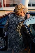 Prinses Beatrix en Prinses Mabel bij de uitreiking van De Prins Friso Ingenieursprijs 2016 in hogeschool InHolland in Delft, de stad waar prins Friso lucht-en ruimtevaarttechniek <br /> <br /> Princess Beatrix and Princess Mabel at the presentation of Prince Friso Engineers Price 2016 college InHolland in Delft, the city where Prince Friso aerospace engineering<br /> <br /> Op de foto / On the photo:  Prinses Beatrix en Prinses Mabel