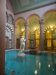 Swimming pool of Palais-Thermal of Bad Wildbad, Baden-Württemberg, Germany