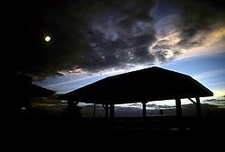 D. Ross Cameron 8/89<br /> <br /> Sunrise, Rehoboth Beach, Del.  boardwalk gazebo.