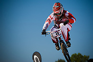 #49 (NYHAUG Tory) CAN at the 2012 UCI BMX Supercross World Cup in Abbotsford, Canada