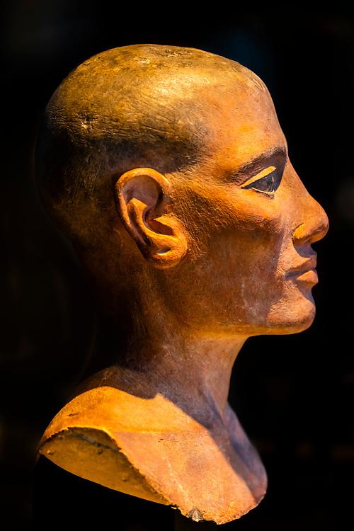 Egyptian antiquities, Louvre Museum, Paris, France.
