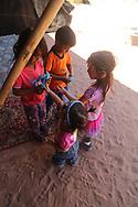 In Wadi Rum, the kids meet a Bedouin family of 13 children and 2 moms.