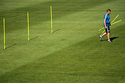 July 4, 2018 - Gelendzhik, Russia - 180704 Assistant coach Peter Wettergren of the Swedish national football team at a practice session during the FIFA World Cup on July 4, 2018 in Gelendzhik..Photo: Petter Arvidson / BILDBYRN / kod PA / 92081 (Credit Image: © Petter Arvidson/Bildbyran via ZUMA Press)