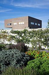Klostergarten or Monastery garden at Raketenstation a former rocket station  at Hombroich at Neuss in Germany