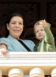 November 19, 2019, Monaco, Monaco: 19-11-2019 Monte Carlo Princess Caroline of Hanover and Francesco Casiraghi during the Monaco national day celebrations in Monaco. (Credit Image: © face to face via ZUMA Press)