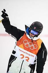 February 12, 2018 - Pyeongchang, SOUTH KOREA - 180212 Vinjar SlÅ'tten of Norway competes in the menÃ•s moguls final during day three of the 2018 Winter Olympics on February 12, 2018 in Pyeongchang..Photo: Carl Sandin / BILDBYRN / kod CS / 57999_286 (Credit Image: © Carl Sandin/Bildbyran via ZUMA Press)