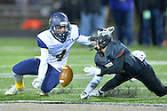 North Ridgeville at Perrysburg high school boys varsity football on Nov. 6, 2015. Images © David Richard and may not be copied, posted, published or printed without permission.<br /> @DavidRichardPix