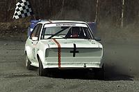 Motor. Bakkeløp i Vikersund 29.4.2000. Trond Berli, NMK Drammen. Ford Escort. Foto: Digitalsport.