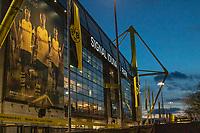 Football - 2018 / 2019 UEFA Champions League - Round of Sixteen, Second Leg: Borussia Dortmund (0) vs. Tottenham Hotspur (3)<br /> <br /> A General view of the stadium before kick off at Signal Iduna Park (Westfalenstadion).<br /> <br /> COLORSPORT/DANIEL BEARHAM