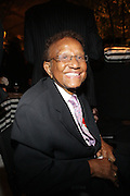 14 June 2010- Harlem, New York- Hal Jackson at The Apollo Theater's 2010 Spring Benefit and Awards Ceremony hosted by Jamie Foxx inducting Aretha Frankilin and Michael Jackson, and honoring Jennifer Lopez and Marc Anthony co- sponsored by Moet et Chandon which was held at the Apollo Theater on June 14, 2010 in Harlem, NYC. Photo Credit: Terrence Jennngs/Sipa