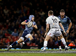 Cardiff Blues' Matthew Morgan<br /> <br /> Photographer Simon King/Replay Images<br /> <br /> Guinness PRO14 Round 21 - Cardiff Blues v Ospreys - Saturday 28th April 2018 - Principality Stadium - Cardiff<br /> <br /> World Copyright © Replay Images . All rights reserved. info@replayimages.co.uk - http://replayimages.co.uk