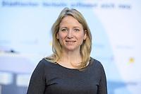 """18 FEB 2020, BERLIN/GERMANY:<br /> Daniele Kluckert, MdB, FDP, F.A.Z. Konferenz """"Mobilitaet in Deutschland - Staedtischer Verkehr erfindet sich neu"""",  F.A.Z.-Atrium Berlin<br /> IMAGE: 20200218-01-011<br /> KEYWORDS: Frankfurter Allgemiene Zeitung, Mobilität, FAZ"""