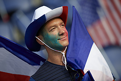 June 28, 2019 - Paris, France - Supporter of France during the 2019 FIFA Women's World Cup France Quarter Final match between France and USA at Parc des Princes on June 28, 2019 in Paris, France. (Credit Image: © Jose Breton/NurPhoto via ZUMA Press)