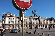 Place du Capitole, Toulouse, Midi-Pyrenees, France.