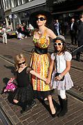 Filmpremiere Barbie - de Prinses & de Popster in Tuschinski , Amsterdam.<br /> <br /> Op de foto:  Chazia Mourali