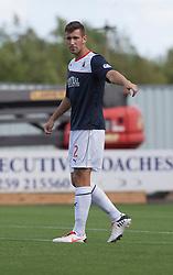 Falkirk's Kieran Duffie.<br /> Falkirk 3 v 1 Morton, Scottish Championship 17/8/2013.<br /> ©Michael Schofield.