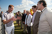 H.R.H. PRINCE WILLIAM, The Dalwhinnie Crook  charity Polo match  at Longdole  Polo Club, Birdlip  hosted by the Halcyon Gallery. . 12 June 2010. -DO NOT ARCHIVE-© Copyright Photograph by Dafydd Jones. 248 Clapham Rd. London SW9 0PZ. Tel 0207 820 0771. www.dafjones.com.