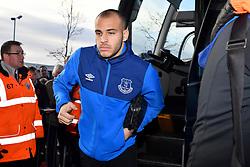Everton's Sandro Ramirez arrives
