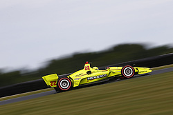 June 22, 2018 - Elkhart Lake, Wisconsin, United States of America - SIMON PAGENAUD (22) of France takes to the track to practice for the KOHLER Grand Prix at Road America in Elkhart Lake, Wisconsin. (Credit Image: © Justin R. Noe Asp Inc/ASP via ZUMA Wire)