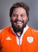 ARNHEM - Bondscoach MAX CALDAS . Het Nederlands hockeyteam mannen, voor de Champions Trophy in Bhubaneswar (India). COPYRIGHT KOEN SUYK
