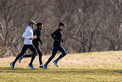 Reebok Boston Track Club<br /> home base training<br /> Bennie, Knight, Rogers
