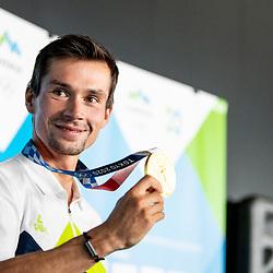 20210730: SLO, Cycling - Reception of Primoz Roglic gold medalist