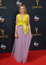 Laura Carmichael bei der Verleihung der 68. Primetime Emmy Awards in Los Angeles / 180916<br /> <br /> *** 68th Primetime Emmy Awards in Los Angeles, California on September 18th, 2016***