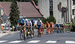 05.07.2017, Altheim, AUT, Ö-Tour, Österreich Radrundfahrt 2017, 3. Etappe von Wieselburg nach Altheim (226,2km), im Bild das Feld in Lambach, Oberösterreich // the peleton at Lambach during the 3rd stage from Wieselburg to Altheim (199,6km) of 2017 Tour of Austria. Altheim, Austria on 2017/07/05. EXPA Pictures © 2017, PhotoCredit: EXPA/ Reinhard Eisenbauer