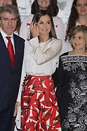 112018 Queen Letizia attends the centenary of the School of Nursing
