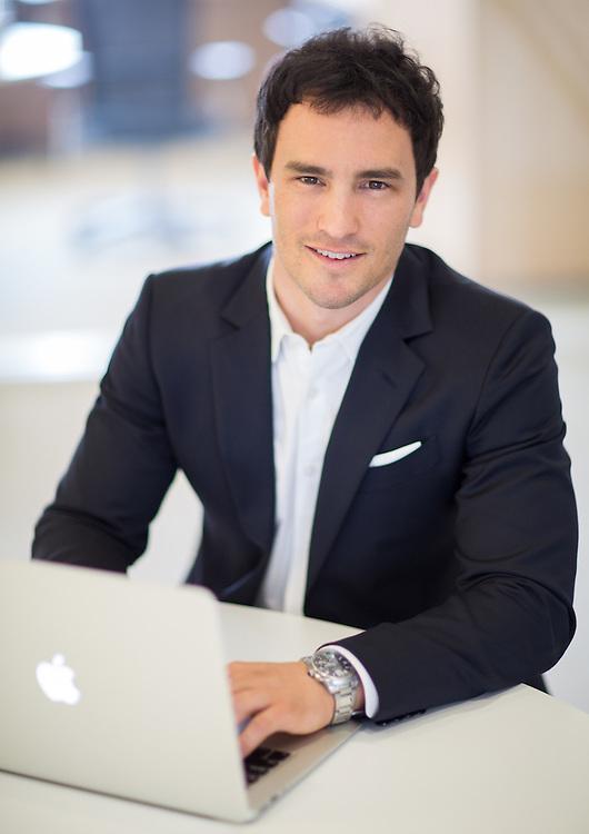 Modern headshot for corporate executive