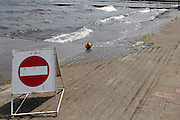 Nottingham, Great Britain, ENGLAND,   Racing is suspended for  a couple of hours, sign posts are placed on the docking areas, at the 2008 National Schools Regatta, Holme Pierrepont,  Saturday,  24/05/2008.  [Mandatory Credit:  Peter Spurrier/Intersport Images]