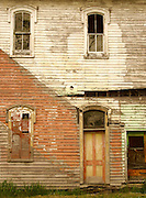 Northcentral Pennsylvania, Abandoned Building,Mainesburg, Tioga Co., PA