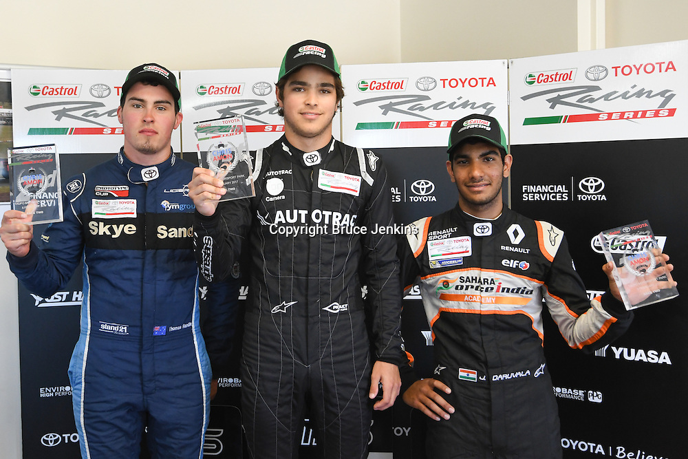 Race 2, Round 4 of the 2017 Castrol Toyota Racing Series