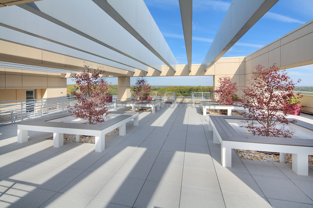 Westbrook Partners 10740 Parkridge Reston Virginia office building Deck patio Verandah Porch